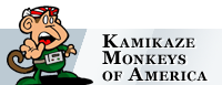 Kamikaze Monkeys of America